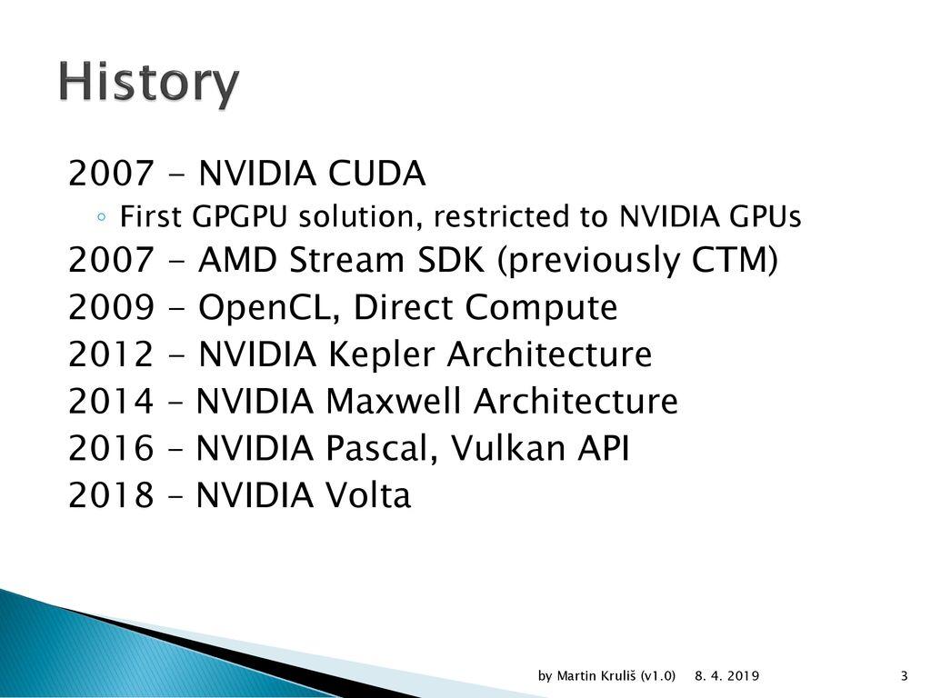 CUDA Introduction Martin Kruliš by Martin Kruliš (v1 0) ppt download