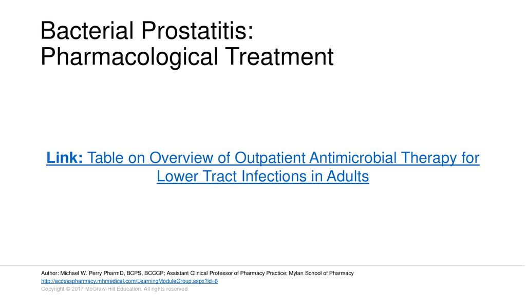 Mariupol Prostatitis)