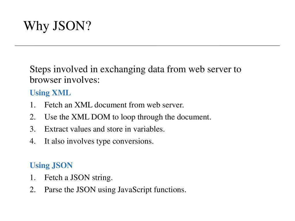 JSON: JavaScript Object Notation - ppt download