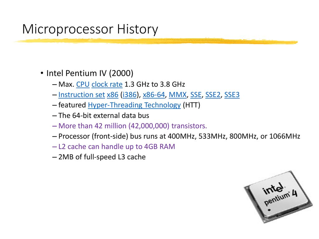 Lecture 3 (Microprocessor) - ppt download