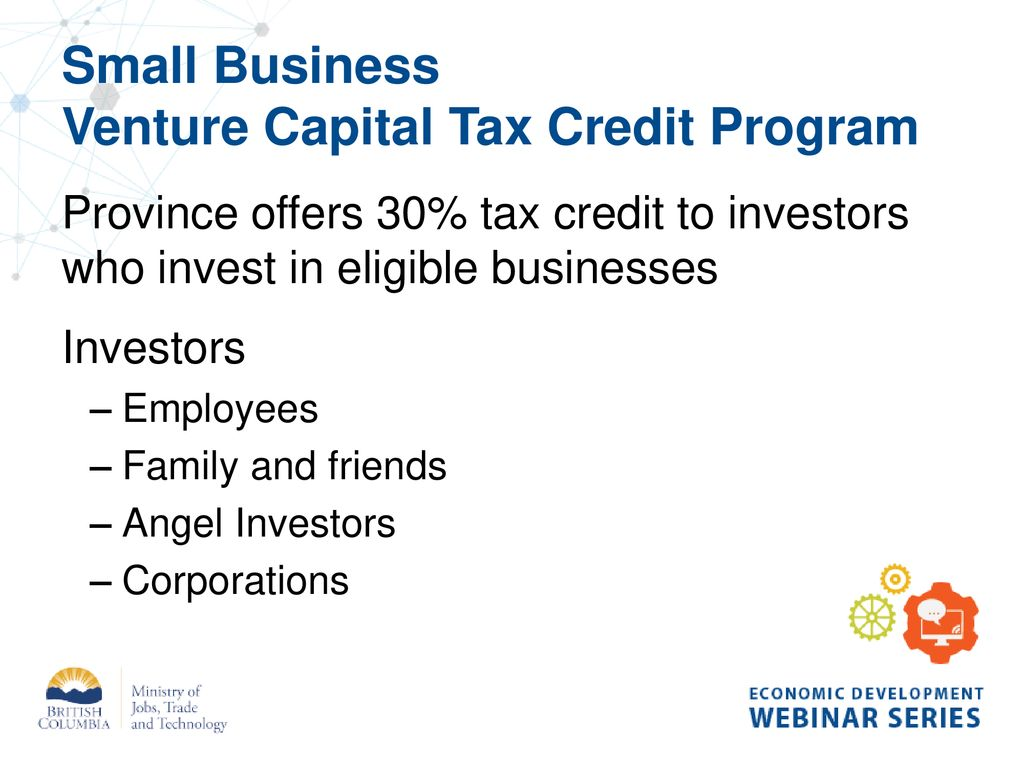 Accessing Capital in Small Communities - ppt download