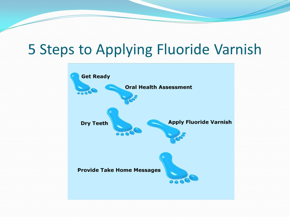 5 Steps to Applying Fluoride Varnish