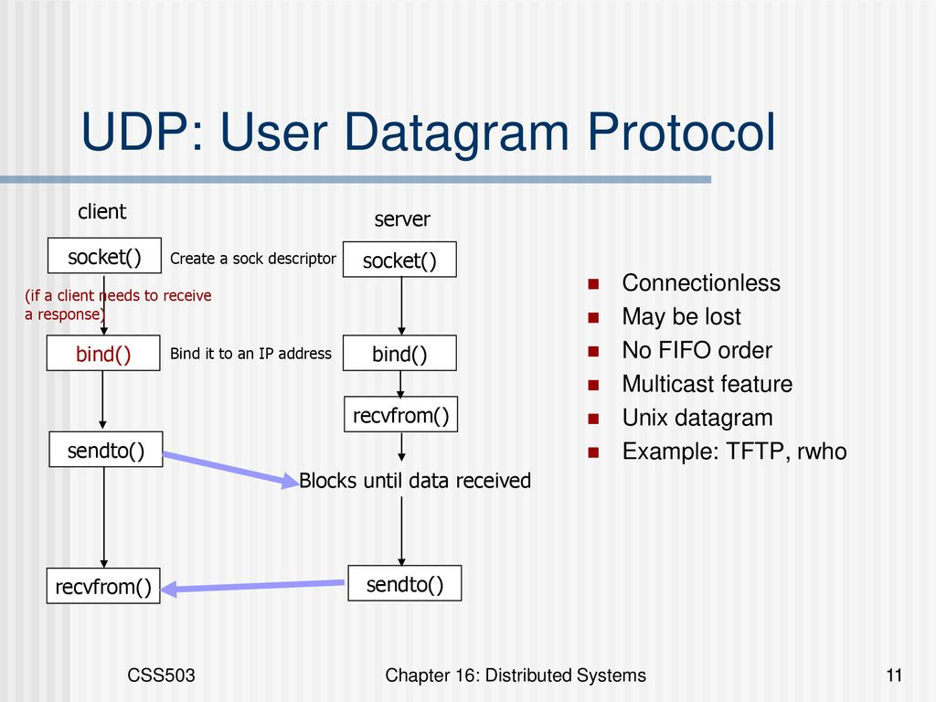 Chapter 17: Distributed Systems CSS503 Systems Programming - ppt