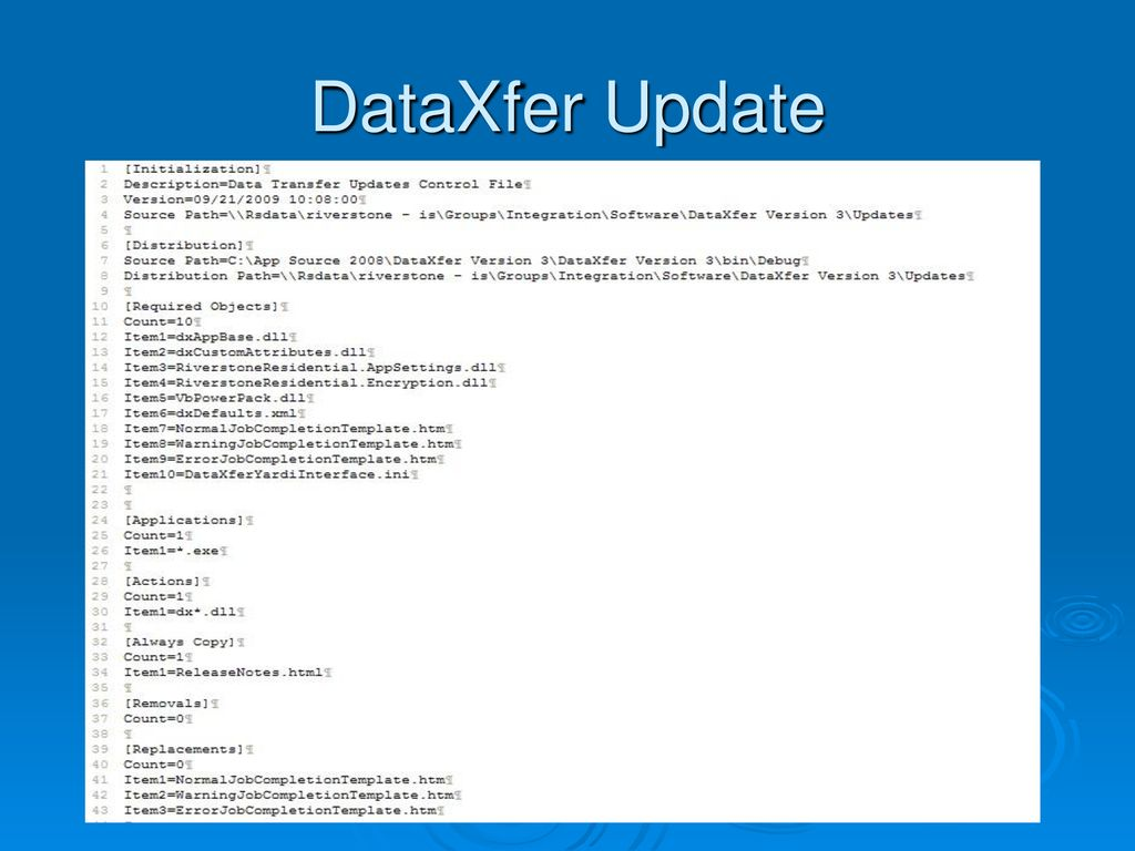 DataXfer Utility Version 3 by Stephen Johnson - ppt download