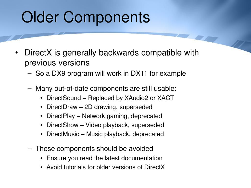 Computer Graphics Introducing DirectX - ppt download