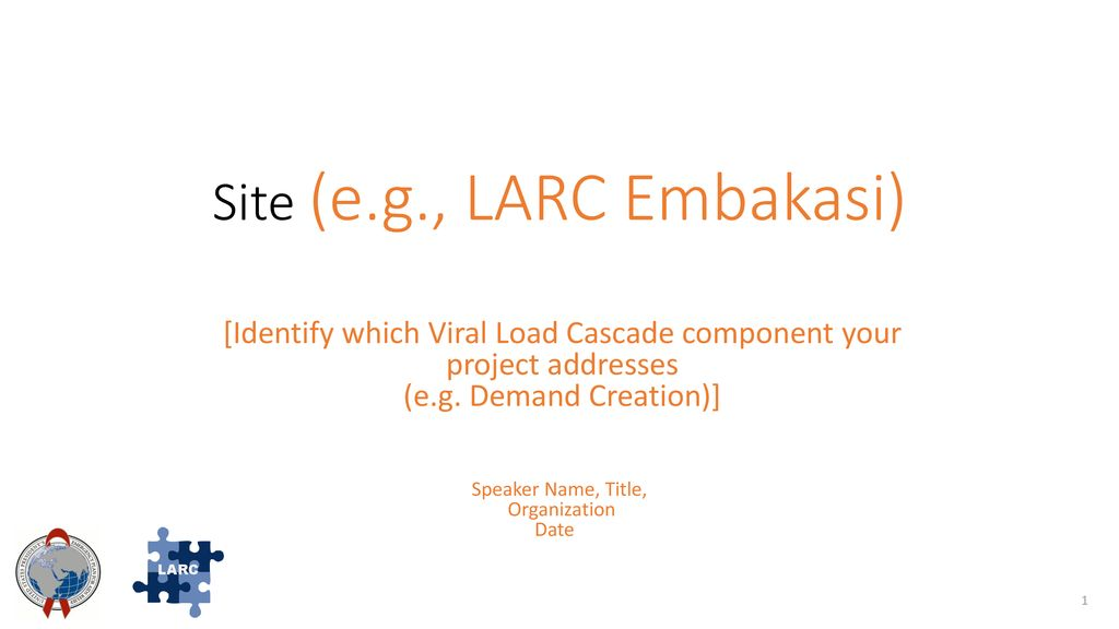 Site (e g , LARC Embakasi) - ppt download