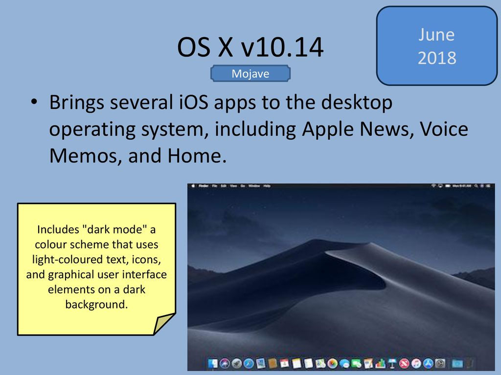 A History of Mac OS Damian Gordon  - ppt download