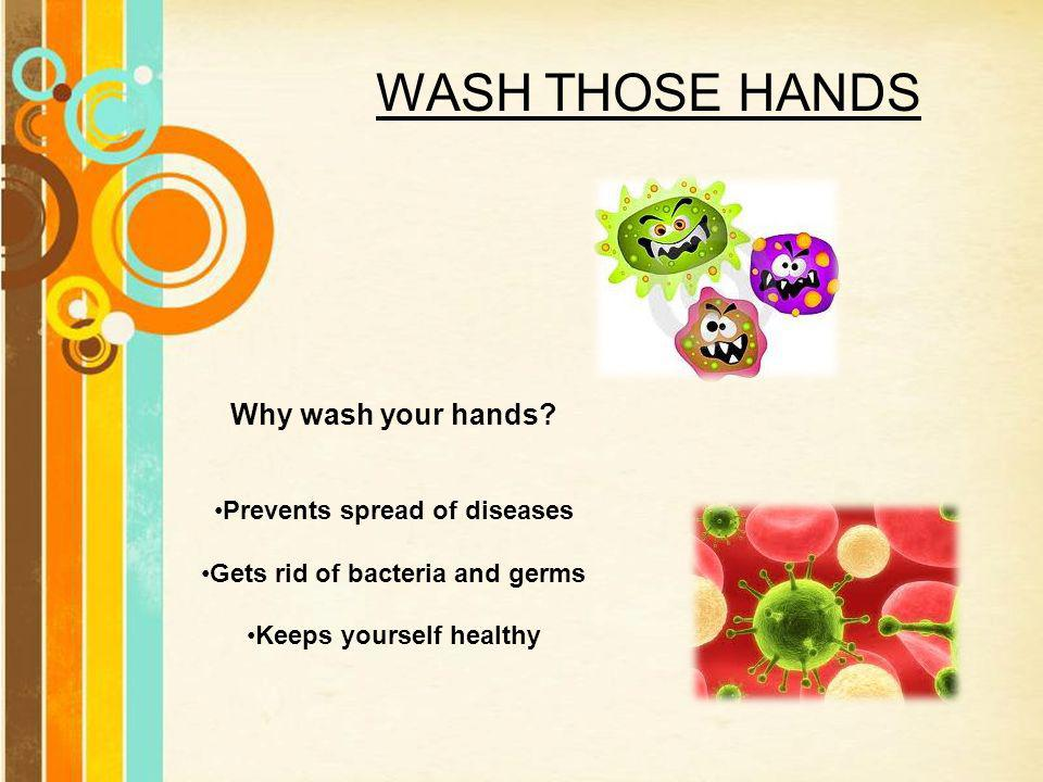 What makes me healthy free powerpoint templates ppt video 7 wash toneelgroepblik Choice Image