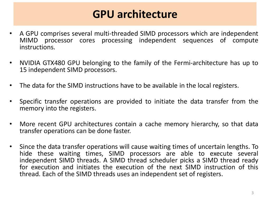 6- General Purpose GPU Programming - ppt download