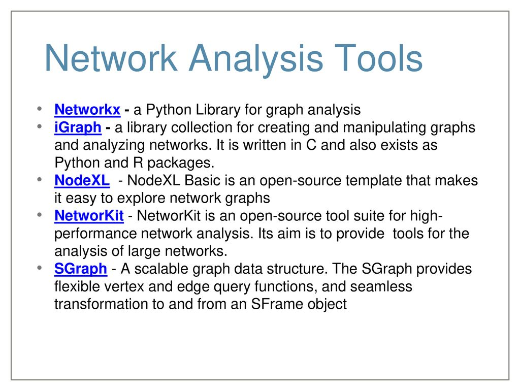 Analyzing Massive Graphs - ParT I - ppt download
