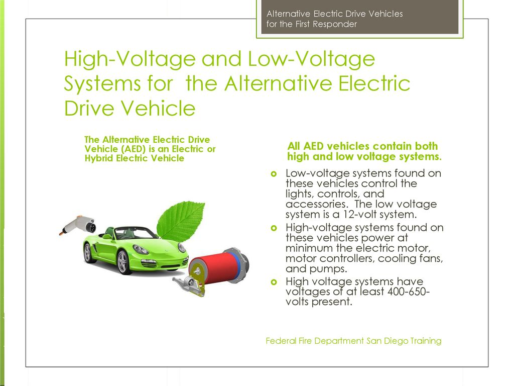 Alternative Electric Drive Vehicles - ppt download