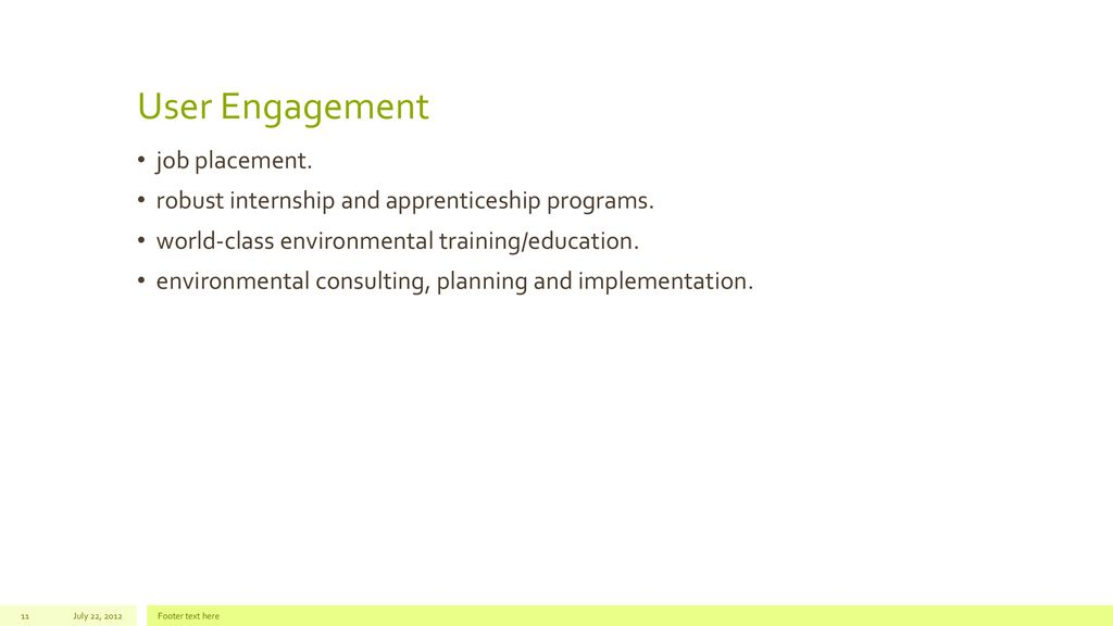 Environmental Training for Michigan's Future - ppt download