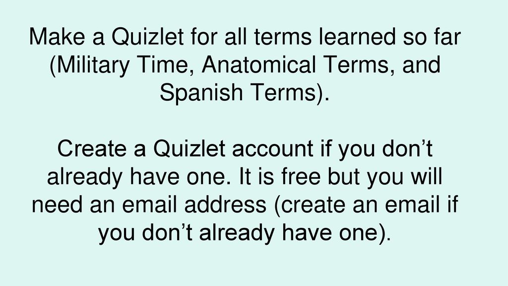 Medical terminology in spanish quizlet