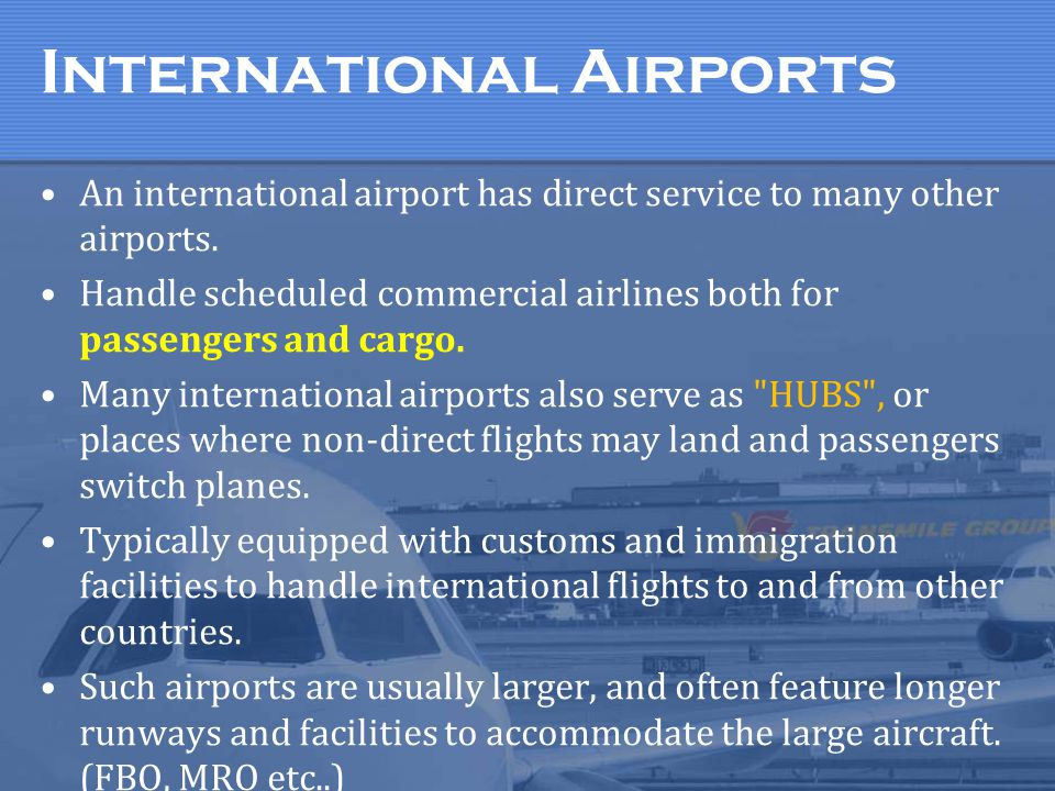 International Airports