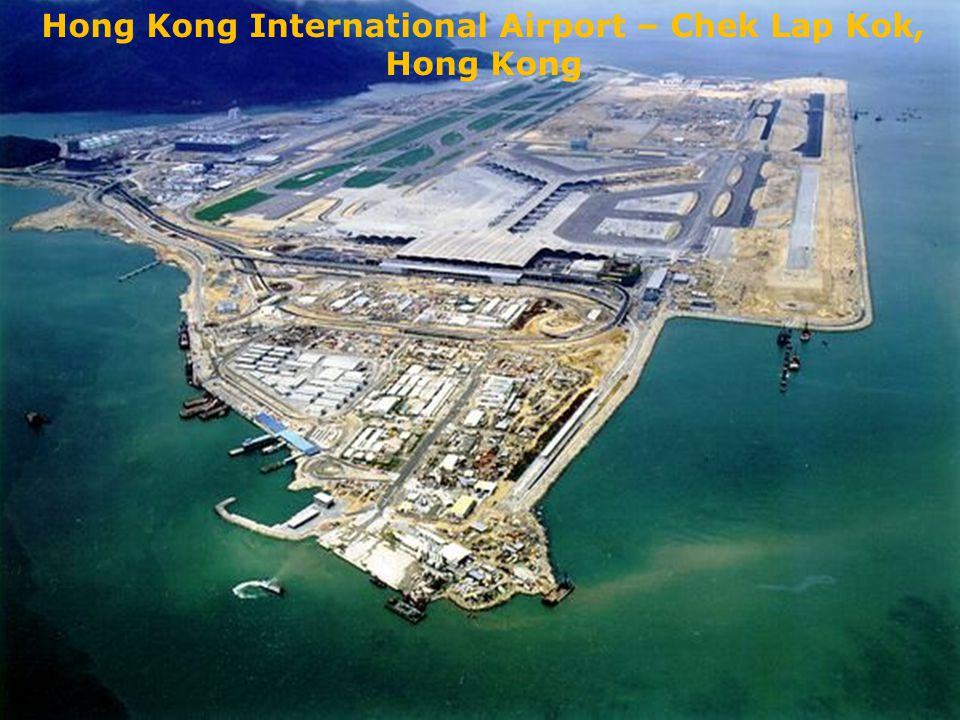 Hong Kong International Airport – Chek Lap Kok, Hong Kong