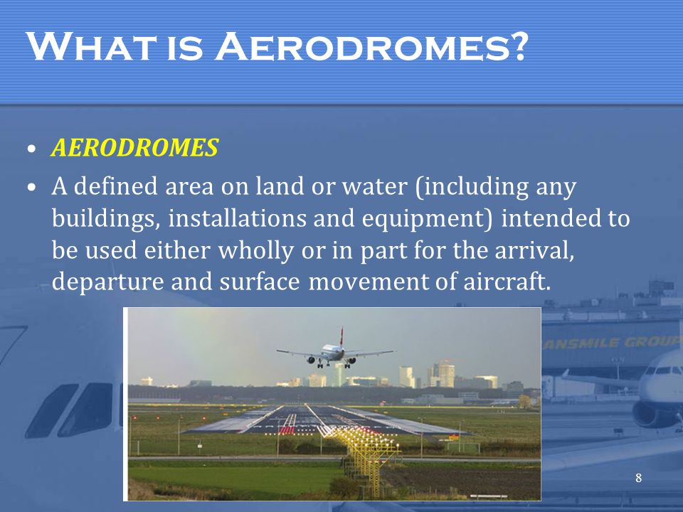 What is Aerodromes AERODROMES