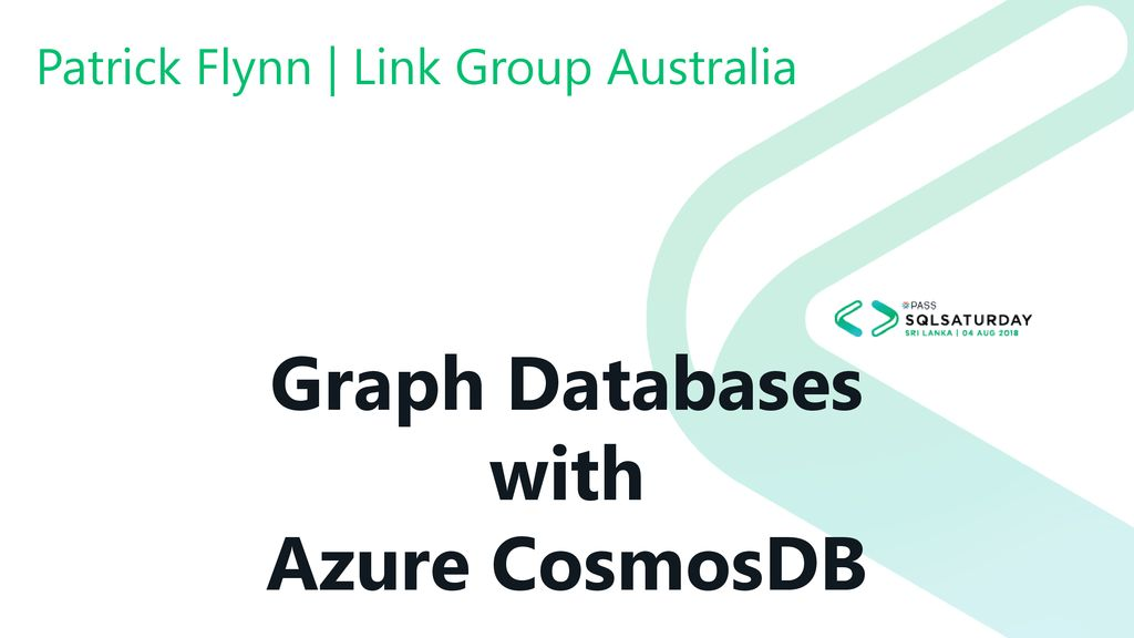 Graph Databases with Azure CosmosDB - ppt download