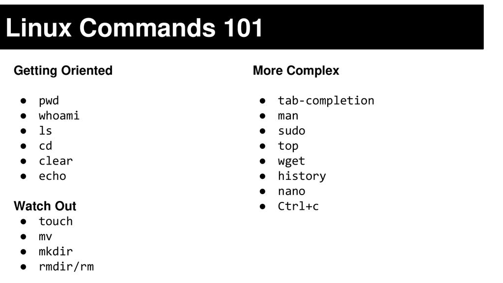 Command Line Crash Course - ppt download