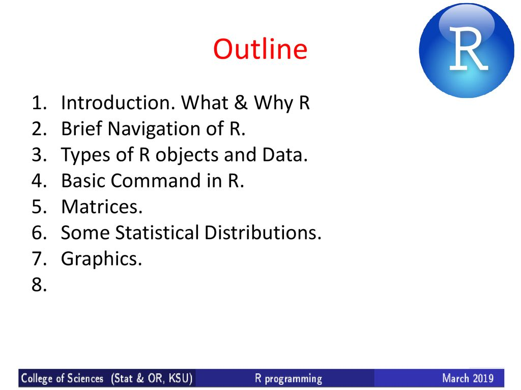 Statistical analysis using R - ppt download