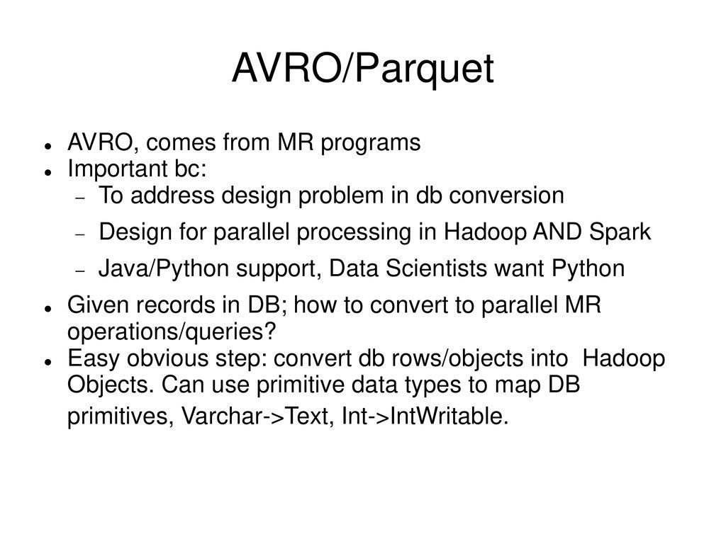 Python Parquet
