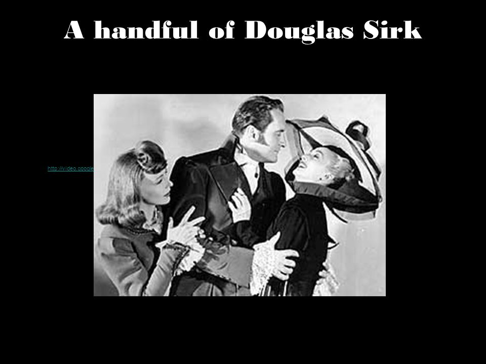 A handful of Douglas Sirk