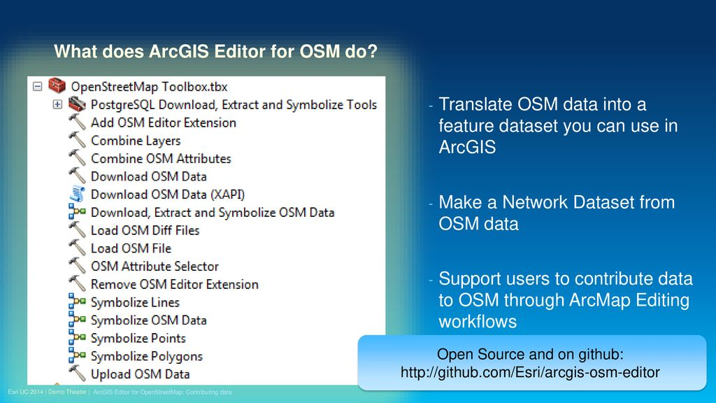 ArcGIS Editor for OpenStreetMap: Contributing data - ppt download