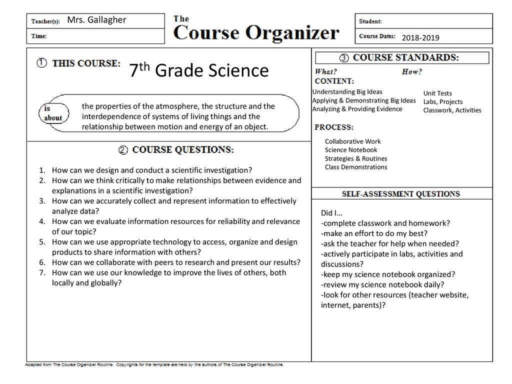 7Th Grade Science Help 7th grade science mrs. gallagher - ppt download