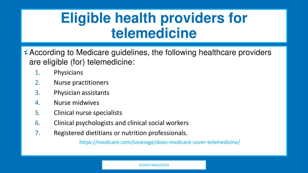 Telemedicine in Your Neighborhood: Friend or Foe? - ppt download