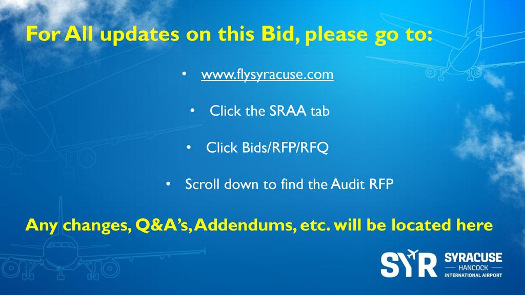 Audit Services RFP Reference # ppt download