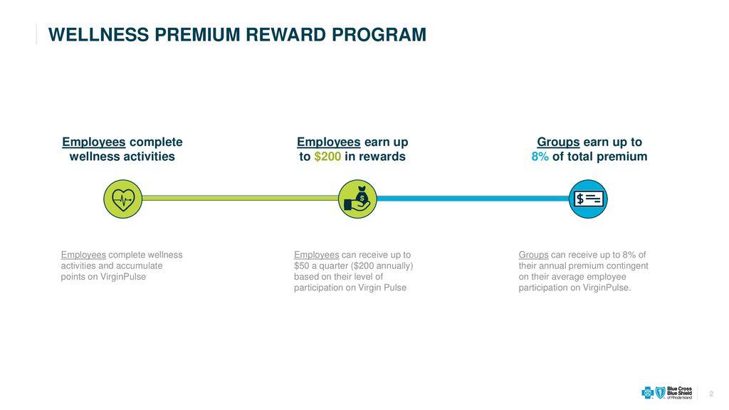 WELLNESS PREMIUM REWARD PROGRAM - ppt download