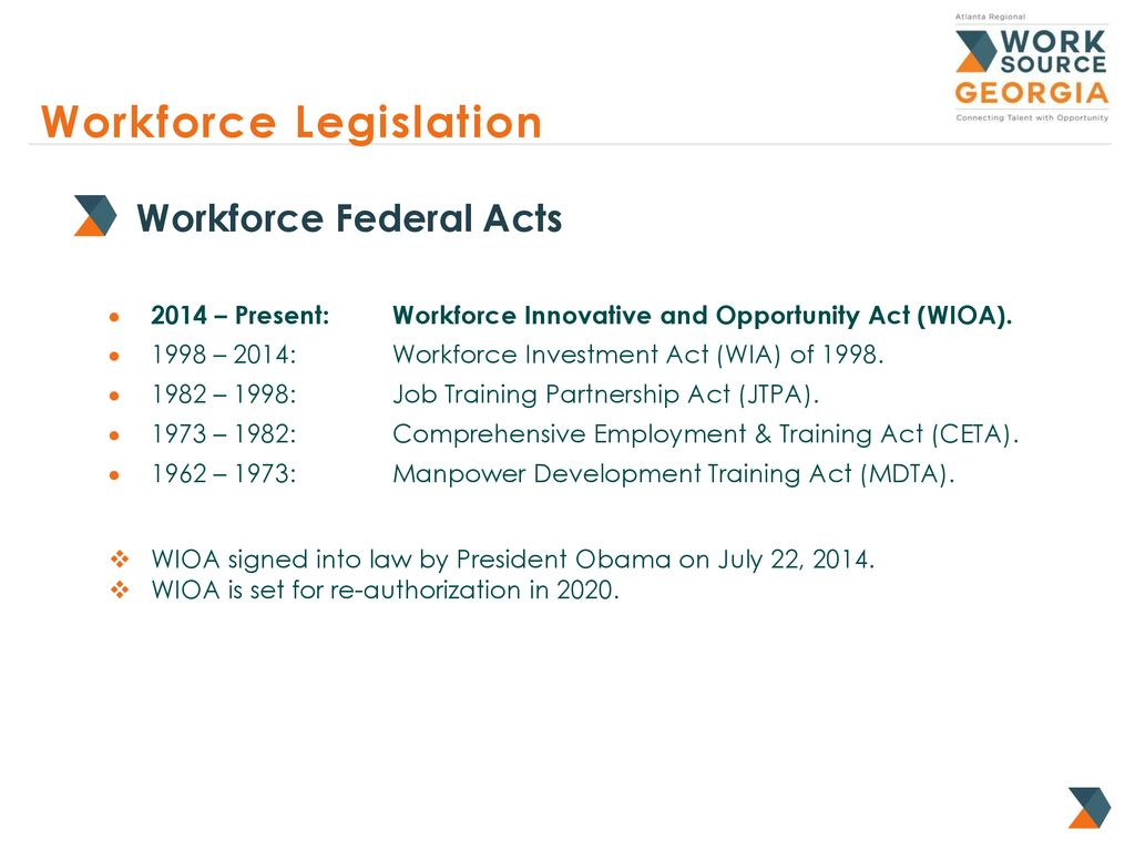 Workforce investment act georgia requirements mlc managed investments tulsa
