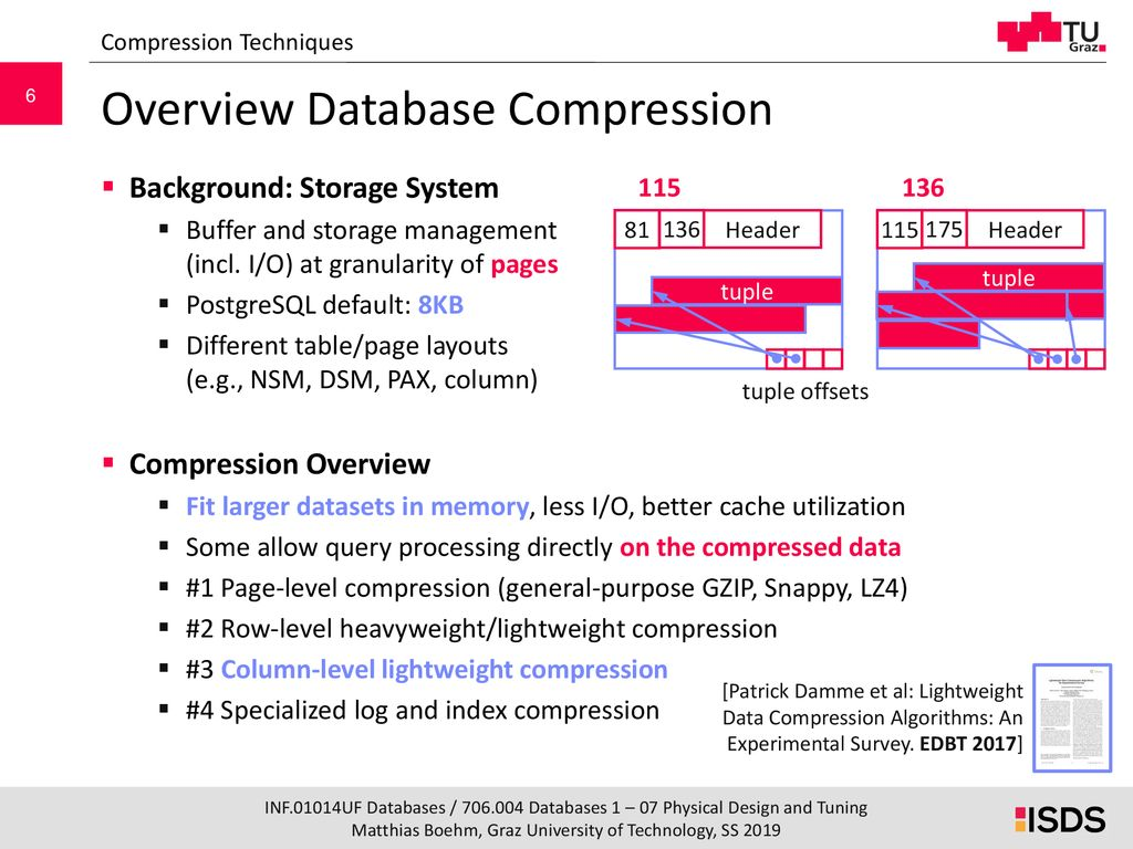 Database Systems 07 Physical Design & Tuning - ppt download