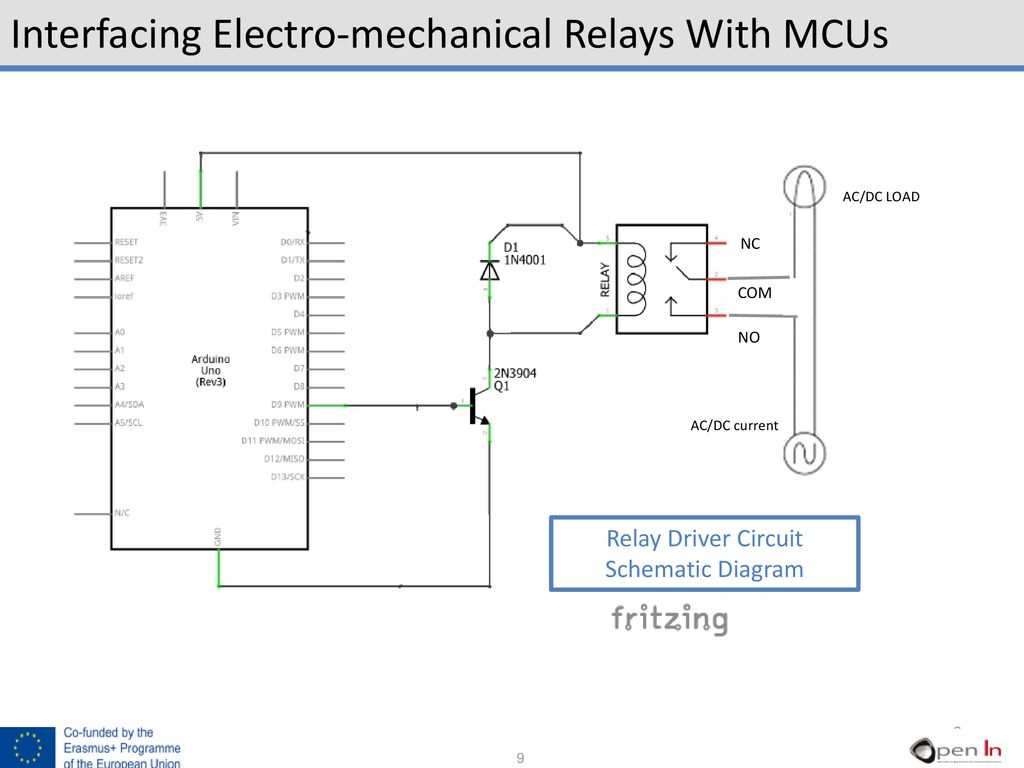 UNIT 9 Relays. - ppt download Dc Relay Schematic Diagram on