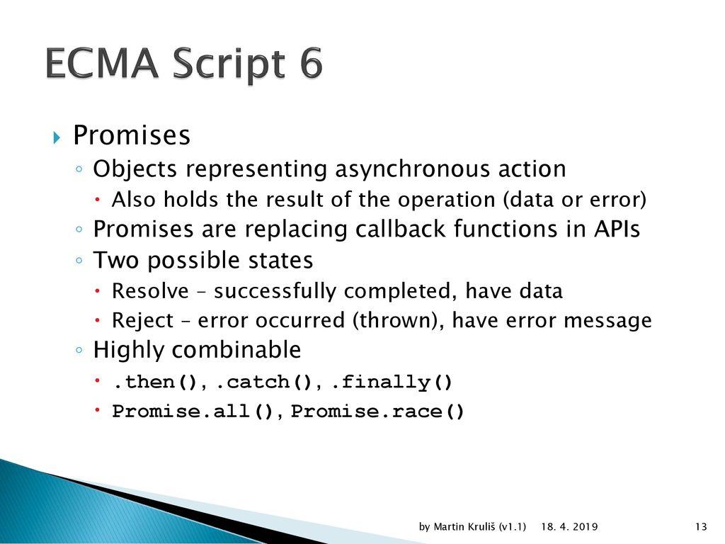Modern JavaScript (since ES6 Harmony) - ppt download