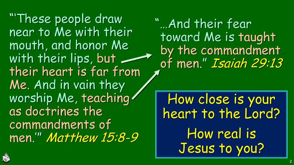 Our Relation to Jesus Hebrews 3: ppt download