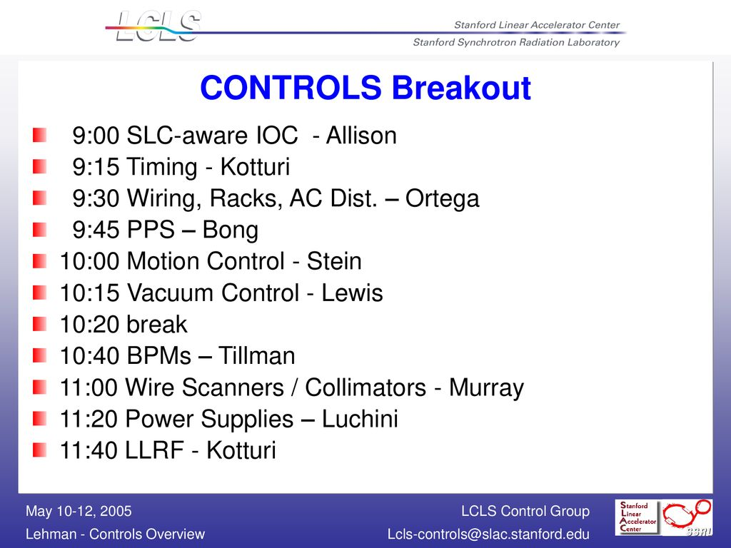 Controls Overview B  Dalesio - ppt download