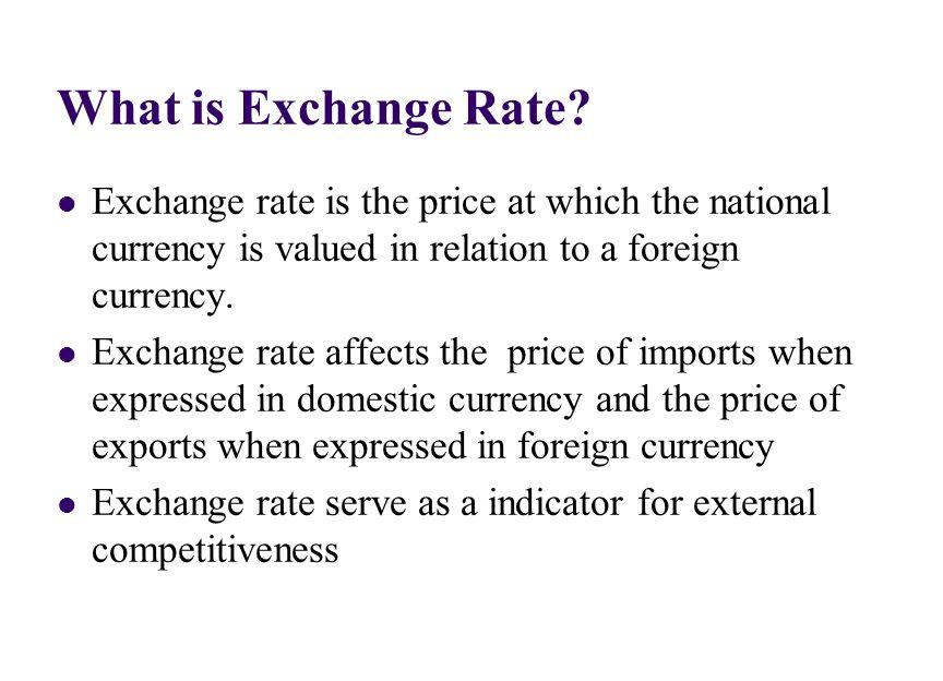 Currency Exchange Rate Triumphias