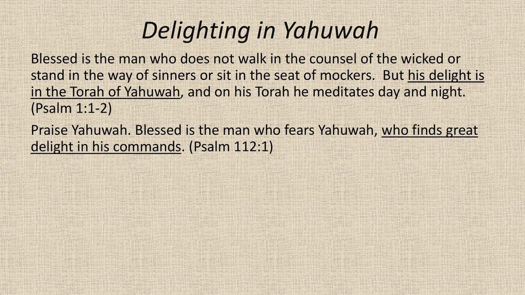 Praise Yahuwah
