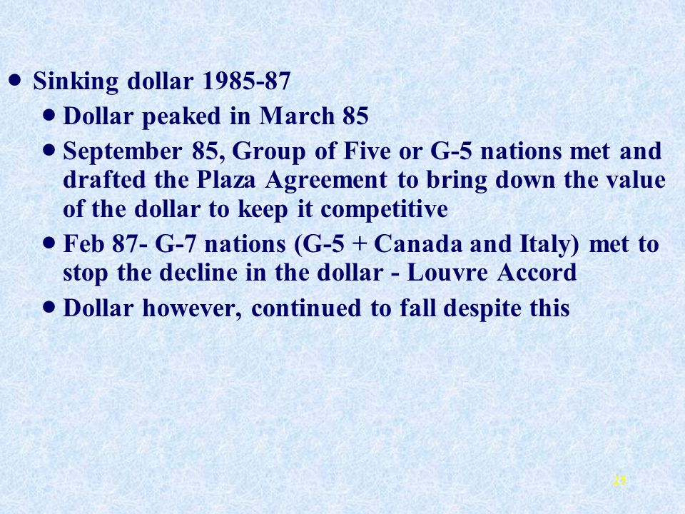 The International Monetary System Ppt Download