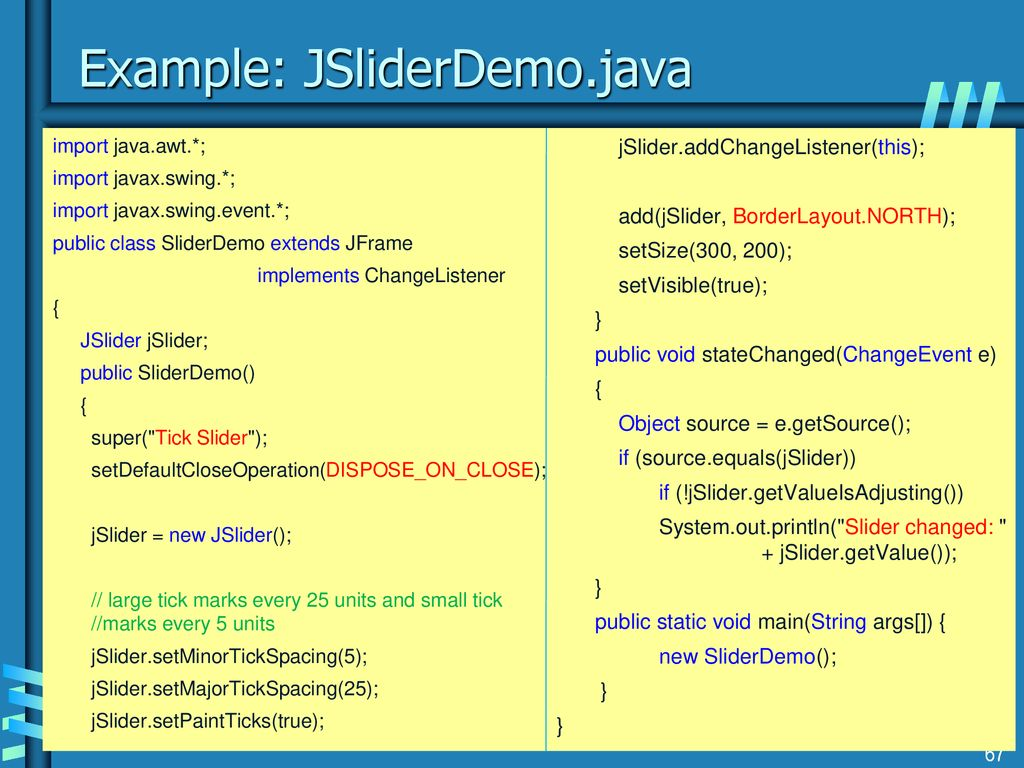 Originals of Slides and Source Code for Examples: - ppt download
