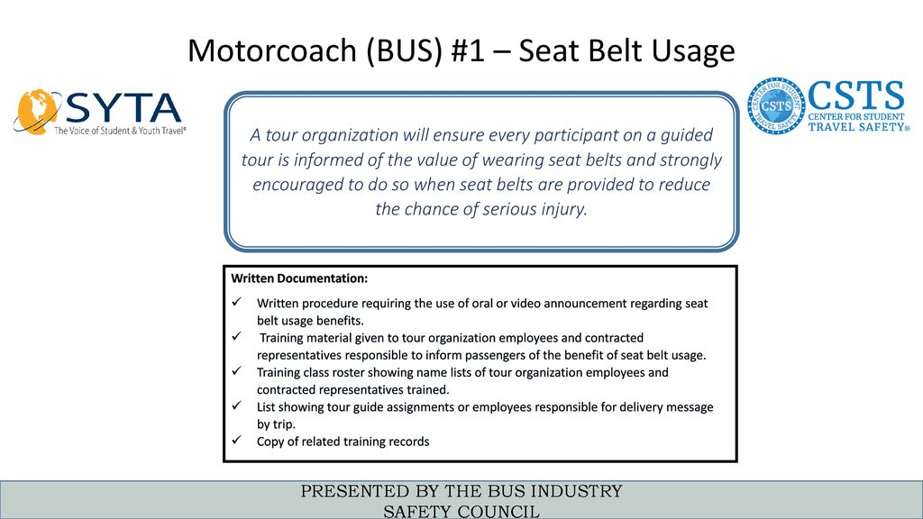Motorcoach Regulatory & Compliance Session - ppt download