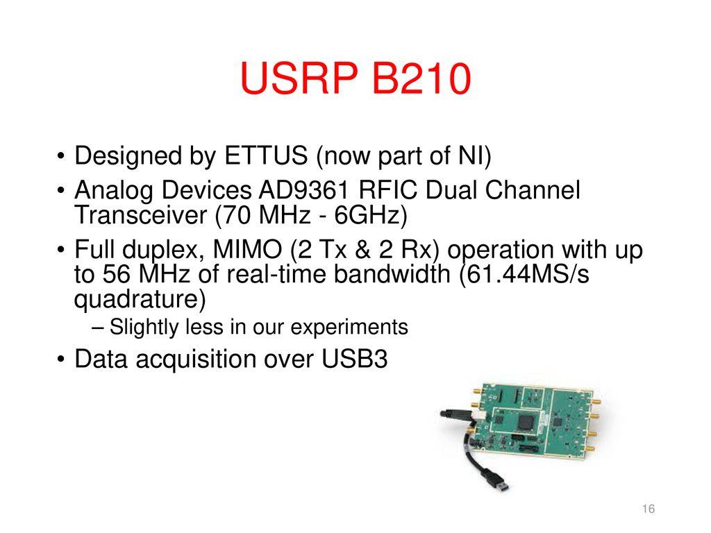 單元6 OAI-LTE使用WiFi網路的卸載(Off-loading) - ppt download