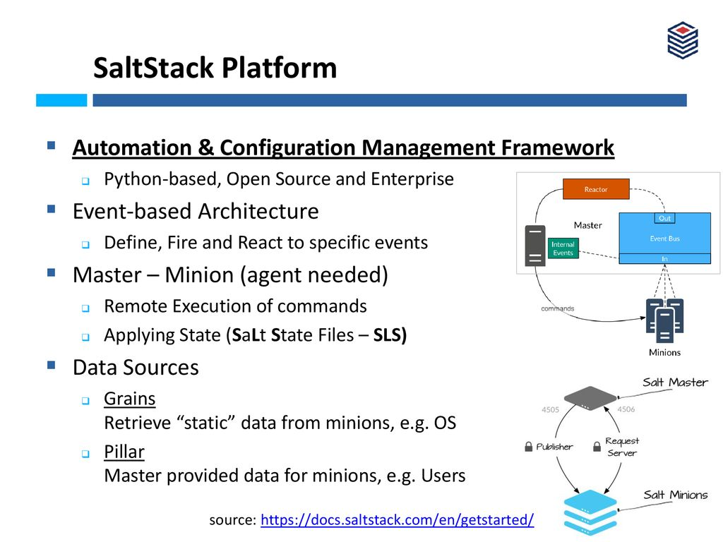 Network Automation and Orchestration with Saltstack - ppt