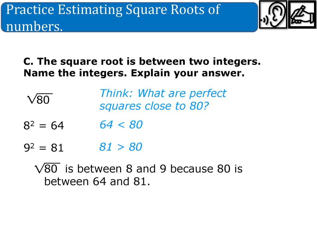 Pre 25.25 Approximating Square Root Date 25/25/25 - ppt download Within Estimating Square Root Worksheet