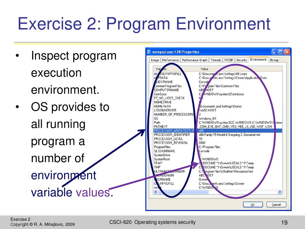 RUN TIME PROGRAM BEHAVIOUR - ppt download