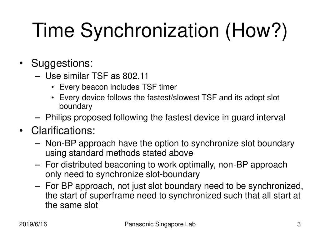 Panasonic Singapore Laboratories - ppt download