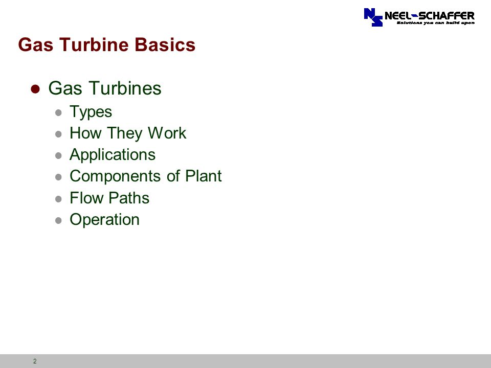 Gas Turbine Technologies for Electric Generation - ppt download