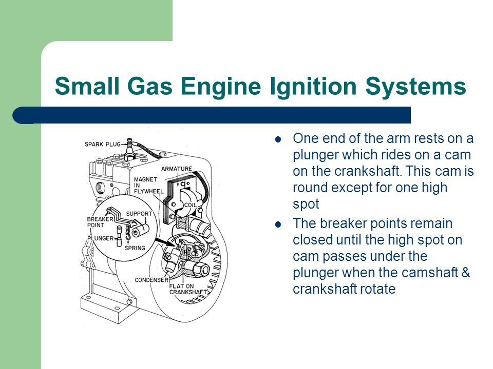 Small Gas Engine Ignition Systems