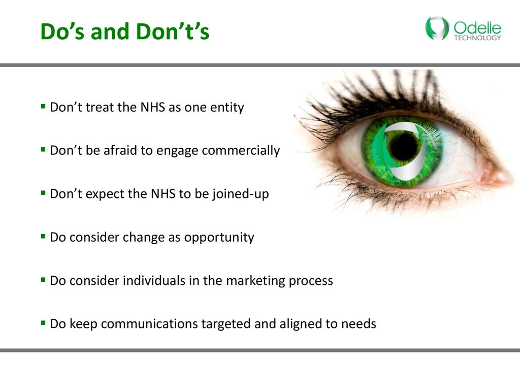 Do's and Don'ts in light of recent changes - ppt download