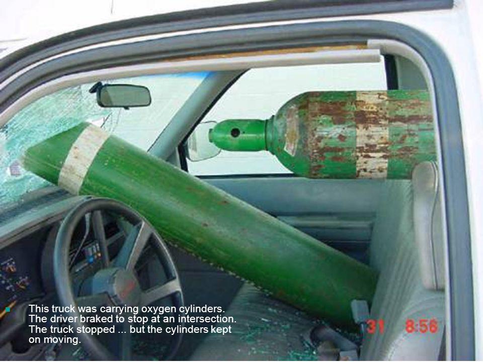 Argon Tank Holder Truck Bed
